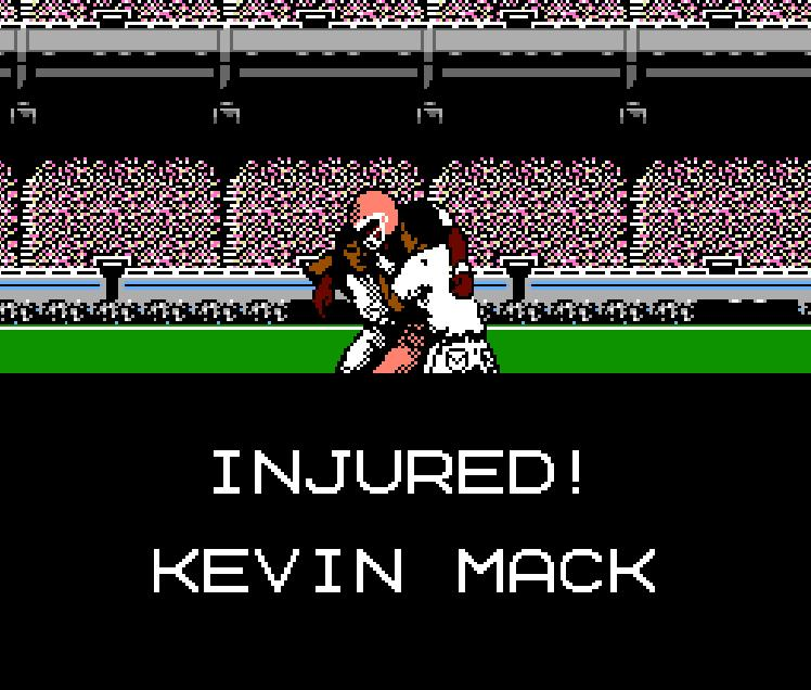 Tecmo Week One Ind @ Cle