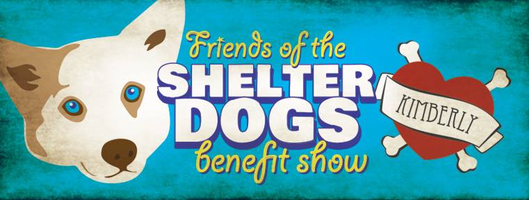 Friends of the Shelter Dogs benefit show at The Union on Saturday, December 7! Good cause, 6 bands, 5 bucks.
