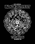 19th annual Blackoutfest is at The Union in Athens this weekend: April 17-19 with over 30 bands!