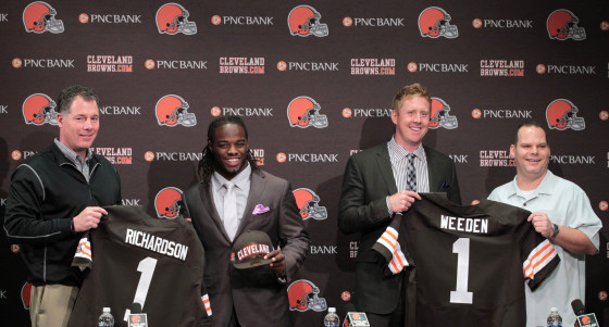 At least the Browns can't lose in the offseason! Oh wait...