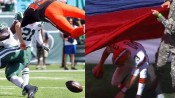 McCown: helicopter? Weeden: flag? photo from WaitingForNextYear